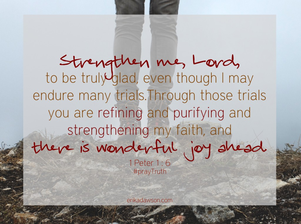 #Praying 1 Peter 1:6 #prayer #prayTruth #1Peter