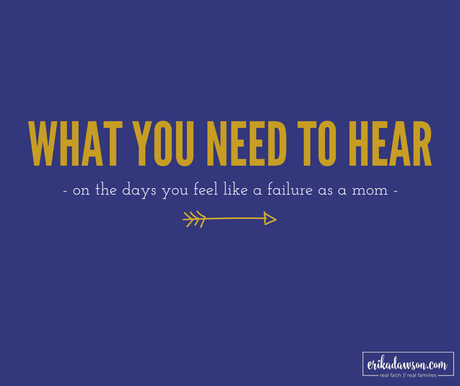What You Need To Hear Today Faithful Moms